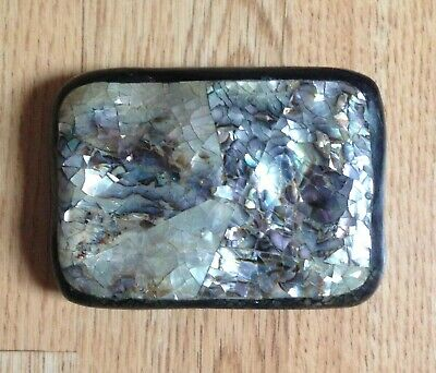 Fenwick Mother of Pearl belt buckle - Rockabilly Goth
