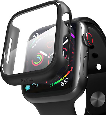 iWatch Case Screen Protector For Apple Watch Series 6/5 /4 /SE 44mm Hard Cover