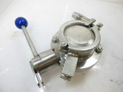 Inoxpa Butterfly Valve Butterfly   2''  (Used Tested)