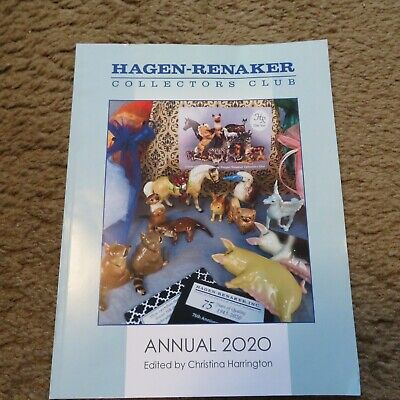 Hagen Renaker Collectors Club 2020 Annual Good Condition