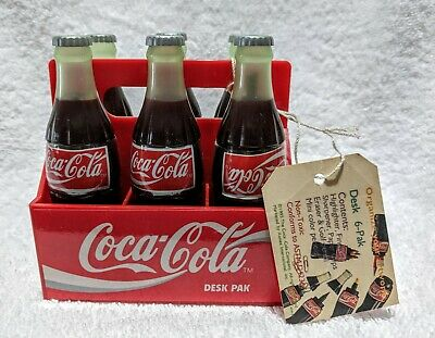 Coca Cola Mini 6-pack Desk Set from 1995                           lot 23