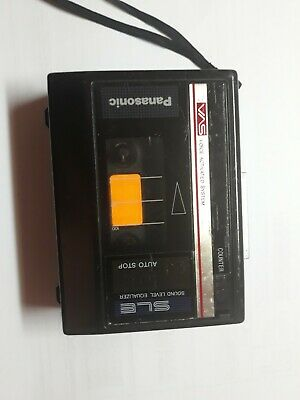 Panasonic (RQ-322) SLE/VAS Tape Cassette Player (Parts only) w/strap