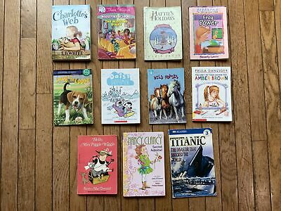 Lot of 11 Chapter Books for Girls Youth Early Reader Young Adult Children