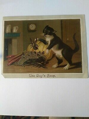 Antique Day's Soap Day & Frick Philadelphia, Pa Trade Card