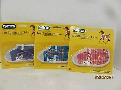 Breyer #2475 Foal Blankets and halters Tradition size