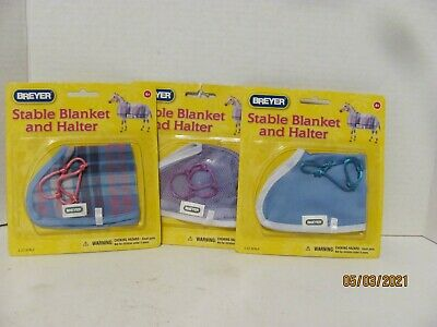 Breyer #61062 Stable Blankets and halters Classic size