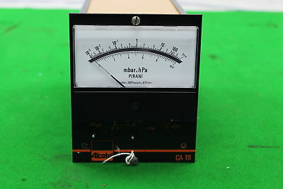 Alcatel CA111 Pirani Lab Manometer Pressure Gauge