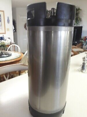 Cornelieus Beer S.S. Keg - Used MSR 5-gallon ball lock Quick- Connect Fittings