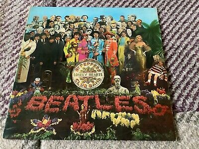 The Beatles Sgt Peppers Lonely Hearts Club Band LP Mono