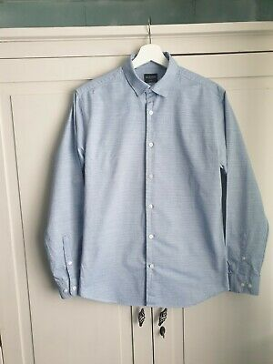 Mens Selext Formal Shirt Excellent Condition  Blue  15.5 Inch