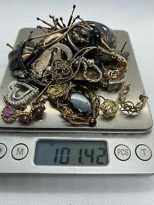 A Lot of Scrap (or not) Sterling Silver Jewelry Over 100 Grams