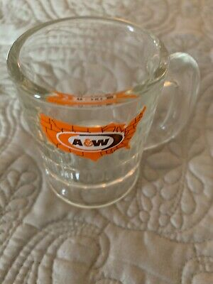 "Vintage A&W Mini Root Beer Mug 3""-Very Nice!"