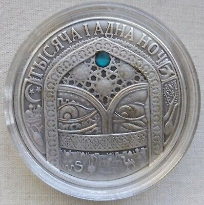 Belarus White Russia Silver 20 Rubles 2006 One Thousand and One Nights