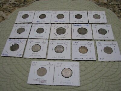 English 6 Pence..Varias Condition..Extras from my collection..Most very nice con