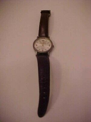 Vintage Coca-Cola Watch With Leather Straps