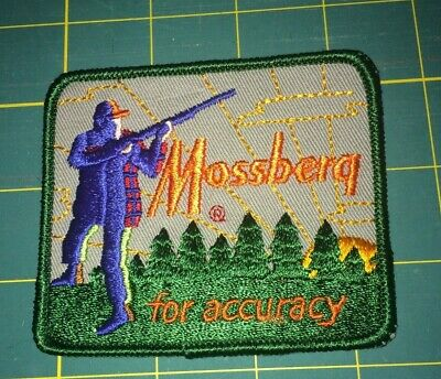 MOSSBERG for accuracy ADVERTISING PATCH.