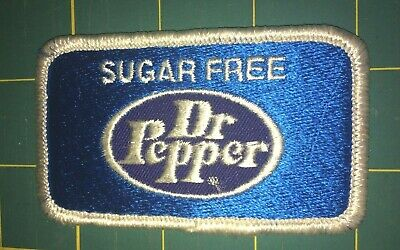 Sugar Free Doctor Pepper Advertising Patch.