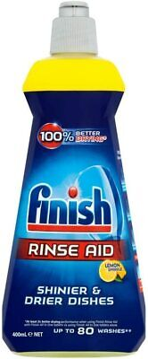 Finish Rinse Aid for Shinier and Drier Dishes, LEMON, 400 ml