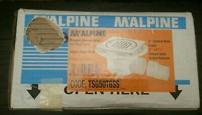 McAlpine 50mm Seal Trapped Shower Gully