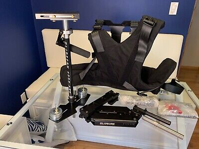 Glidecam HD 4000 Pro Smooth Shooter Stabilizer Arm & Vest - Excellent Condition