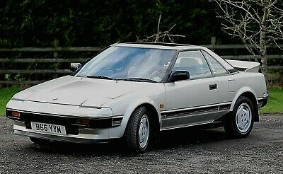 TOYOTA MR2 MK1 RARE MK1a SIDE AND BONNET STRIPES / DECALS / STICKERS. AW11 1985