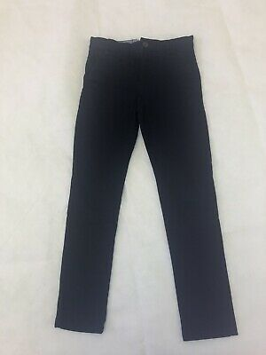 Next 8 Years Black Trousers Tailored Smart Style School Button And Zip Fastening