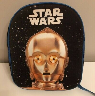 Boys Star Wars Rucksack With C3 Po