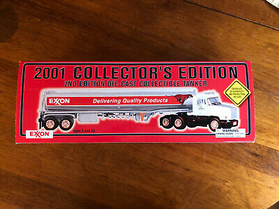 2001 Exxon Toy Tanker 2nd Edition Truck