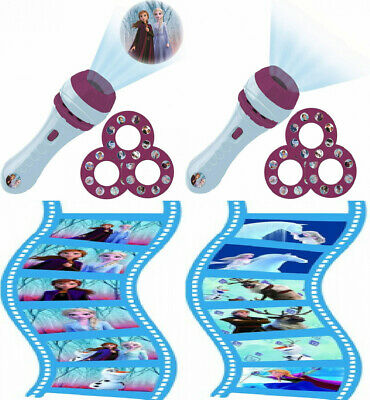 LEXIBOOK, Frozen torch light and projector with 3 discs, 24 images, create...