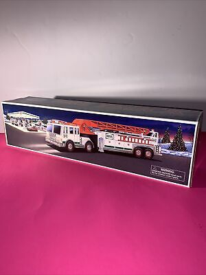HESS 2000 Fire Truck Collectible Toy Brand New In Box