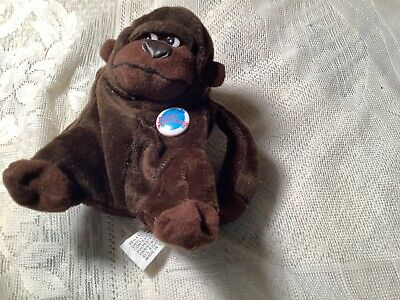 """Planet Hollywood George The Gorilla 4"""" Beanie"""
