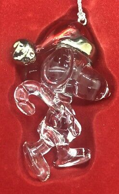 Lenox Peanuts Lead Crystal Snoopy Candy Cane Christmas Ornament in Box Germany