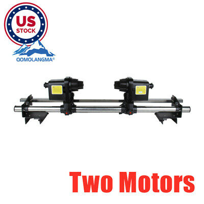 """USA 54""""/64'' Automatic Media Take up Reel with Two Motor for Mutoh Mimaki Roland"""