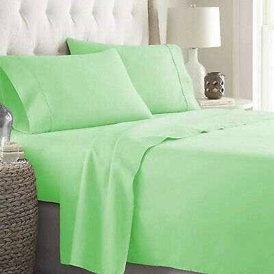 Egyptian Cotton Glamorous Gold Sheet Collection Solid Choose Item /& UK Size