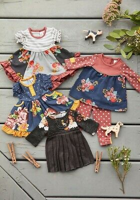 """Matilda Jane Doll Clothes Cozy Town All Dressed Up Holiday Magic Big Ruffle 18"""""""