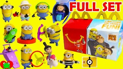 McDonald/'s 2017 Minions Happy Meal Toy #10 Deck of Cards