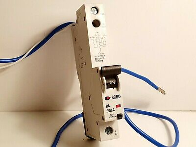 Switch Lewden  6//30//SP 6 AMP 30mA RCBO