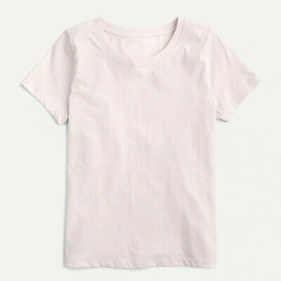 """J Crew Women/'s /""""Aperitivo/"""" T Shirt in Subtle Pink NWT Multiple Sizes"""