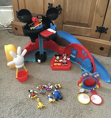 Mickey Mouse Clubhouse Adventures Brown Mailer Ages 3 Toy Playset Play Set Gift