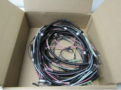 Willys Jeep Wiring Harness Willys CJ2A Horn on Firewall w// Turn Signals