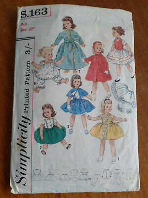 Vintage Cendrillon Childs dress sewing pattern S9354 Taille 3 /& 6
