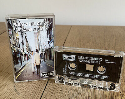 Oasis - (Whats The Story) Morning Glory Cassette Tape Album Original (1995)