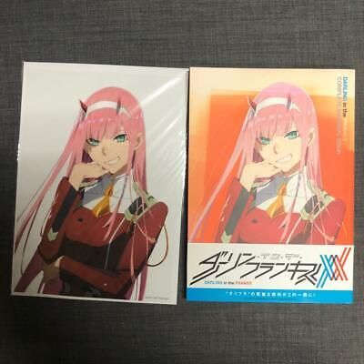 Darling in the franxx Official Complete Material book obi comiket anime trigger
