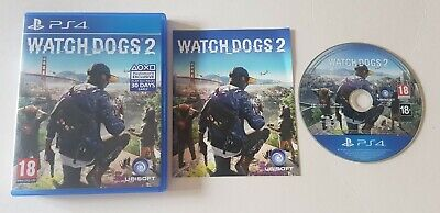 WATCH DOGS 2 Two Ps4 Playstation Game Watchdogs Action