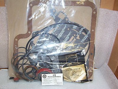 C6 TransTec Overhaul Kit Gasket Seals Rings 1966-On Fits Ford Lincoln Mercury OH