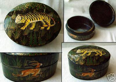 Old wooden russian-box  Lacquer Box-1969 ?