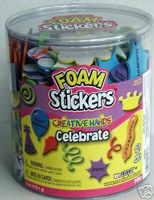 Creative Hands Celebrate Foam Stickers 6 Ounce