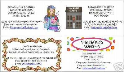 Business Cards Cute and Fun! Personalized