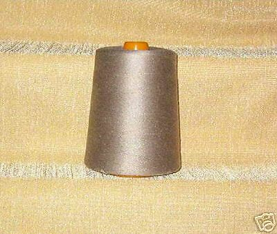 "Serging THREAD ~Taupe~ 12,000 Yds Ea ~ /""Rose Brand/"" 4"