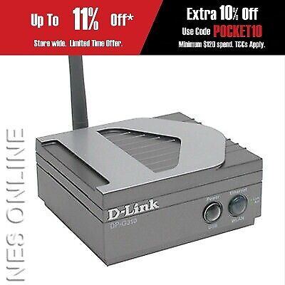 D-Link DP-G310 High-Speed 802.11g Wireless Print Server